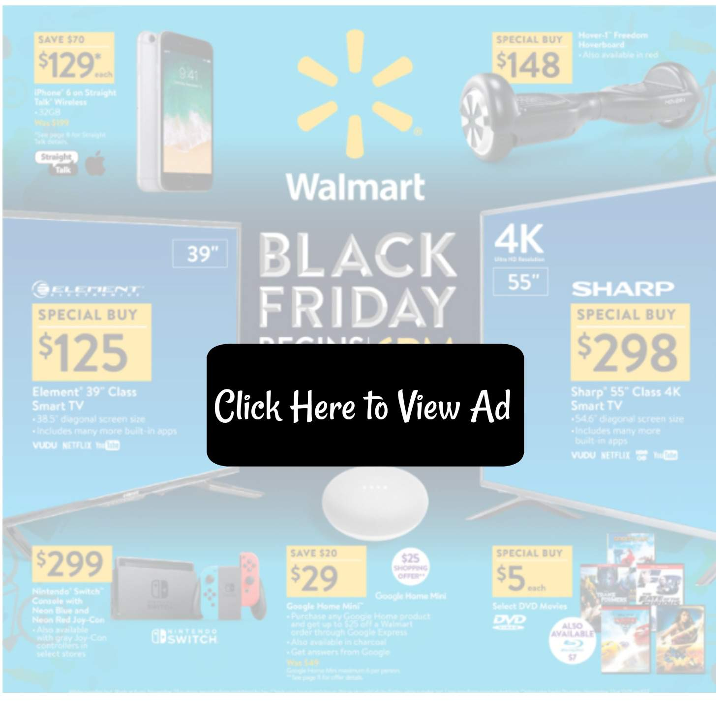 Friday Sales At Walmart