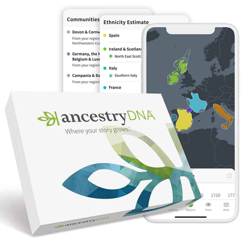ancestry dna test kit.