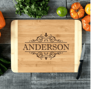 Personalized Bamboo Cutting Boards $18.95 (Was $59.99)