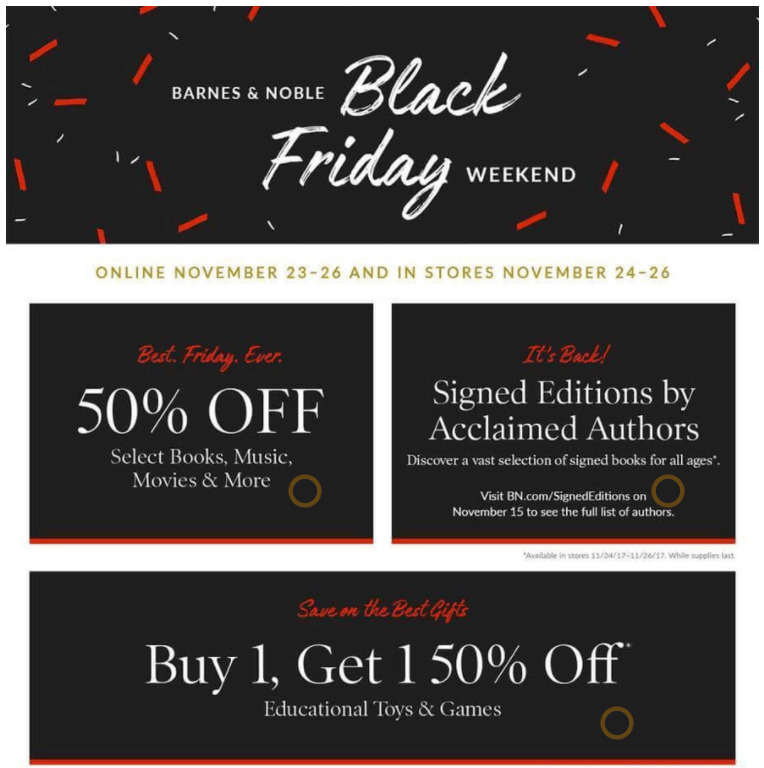 barnes and Noble Black Friday