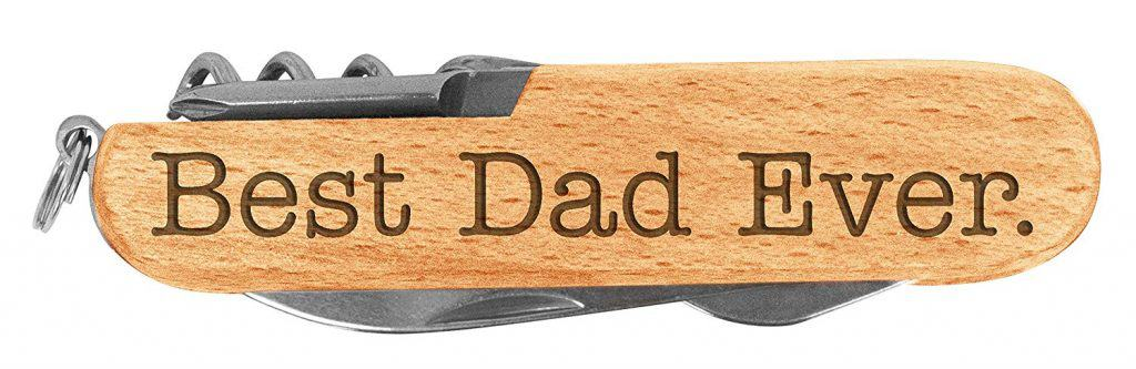 best dad ever pocket knife