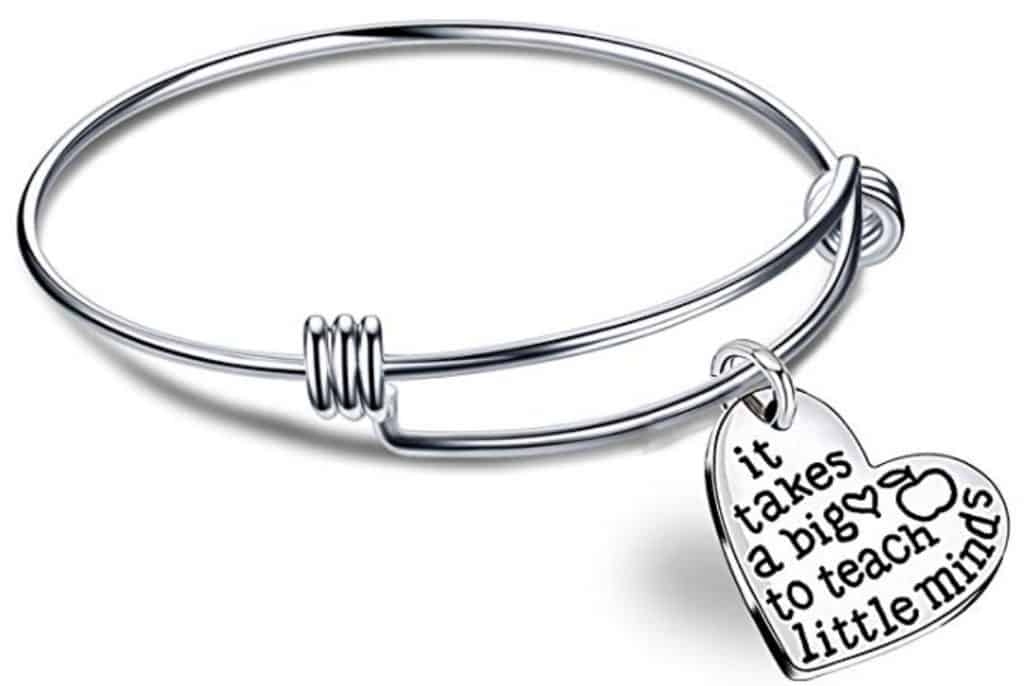 Big heart little minds bracelet.