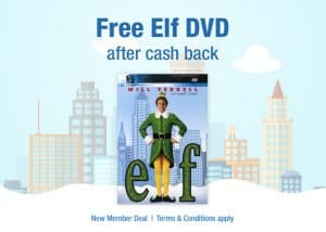 Get a FREE Copy of the Movie ELF