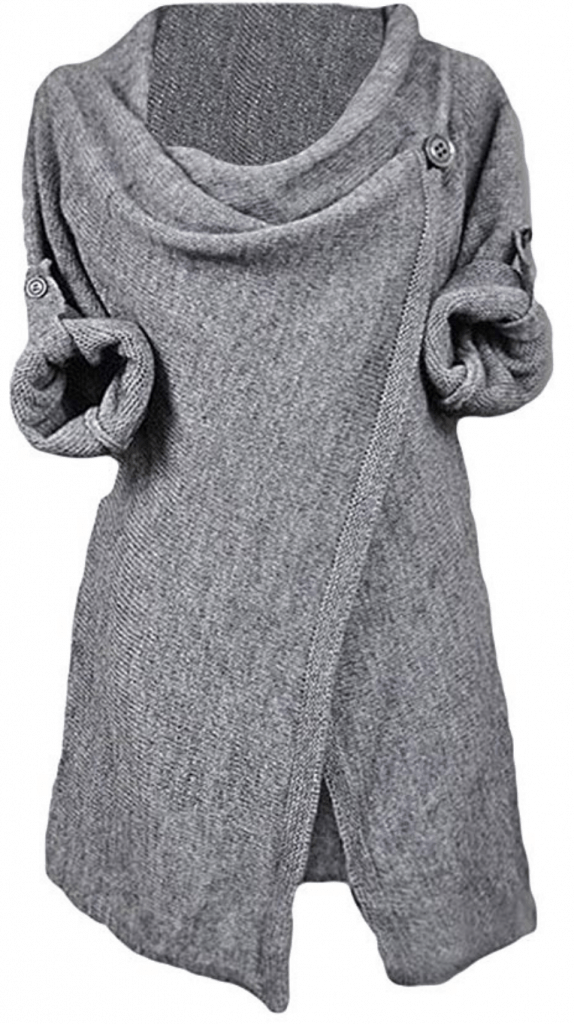 Cupshe sweater poncho.