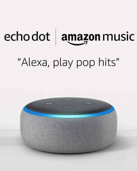 Amazon Echo dot sale to encourage Alexa to play music.