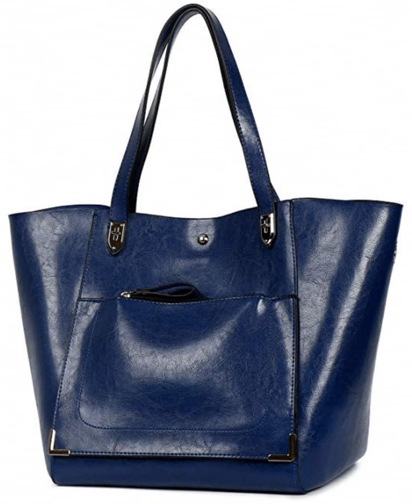 Esfeeni top handle shoulder bag.
