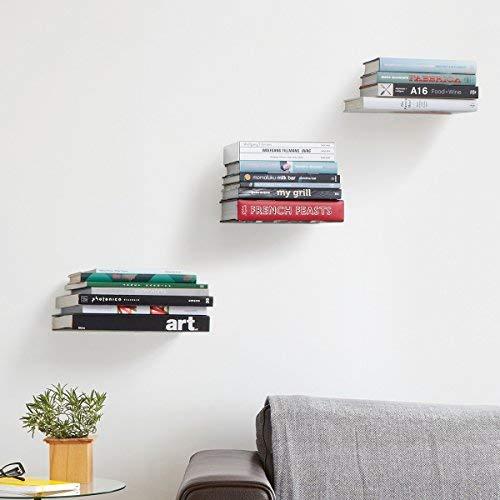 Umbra conceal floating bookshelf.