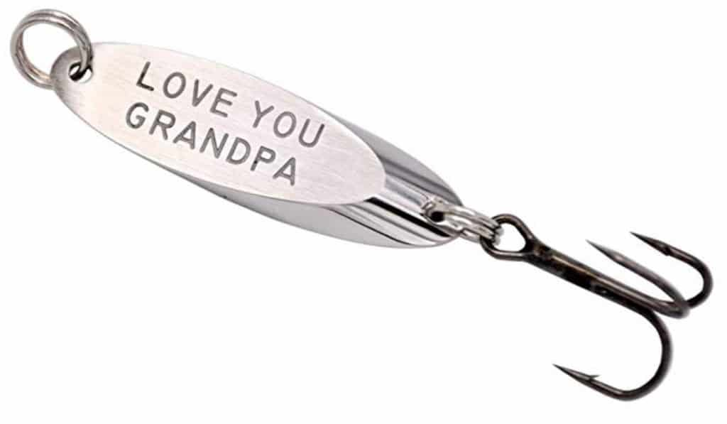 Love you grandpa fishing hook.