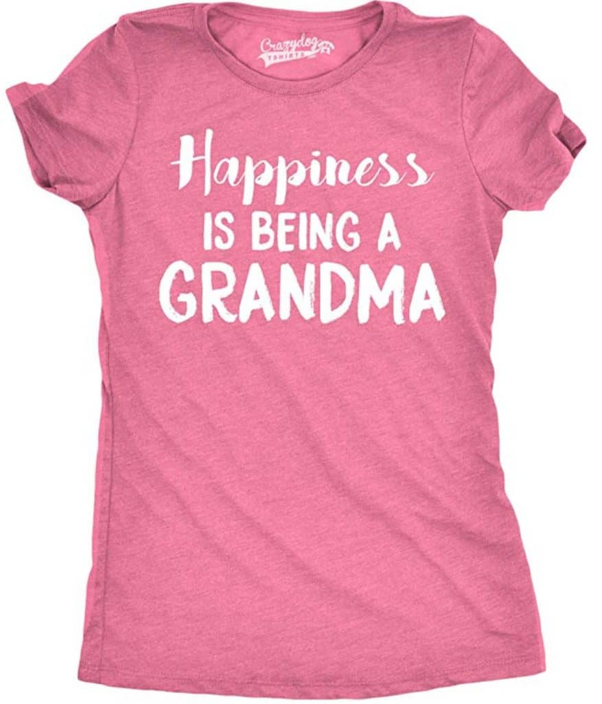 Happiness is being a grandma t-shirt.