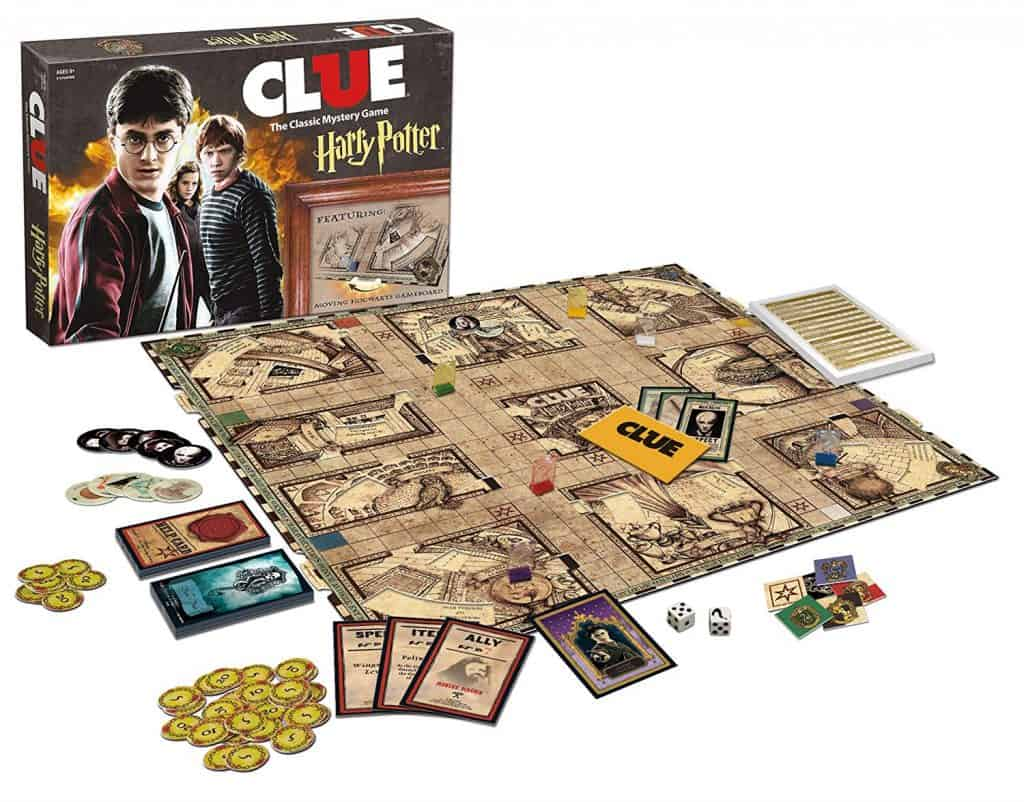 Clue Harry Potter board game.