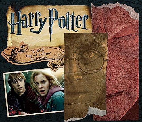 Harry Potter desk calendar.