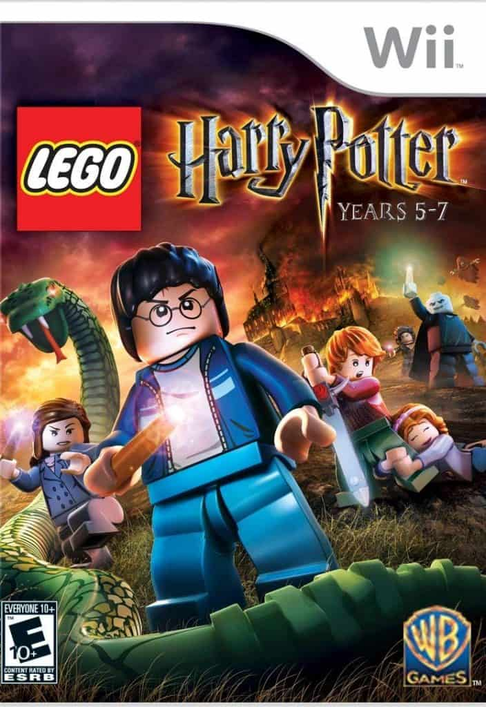 LEGO Harry Potter game for Wii.