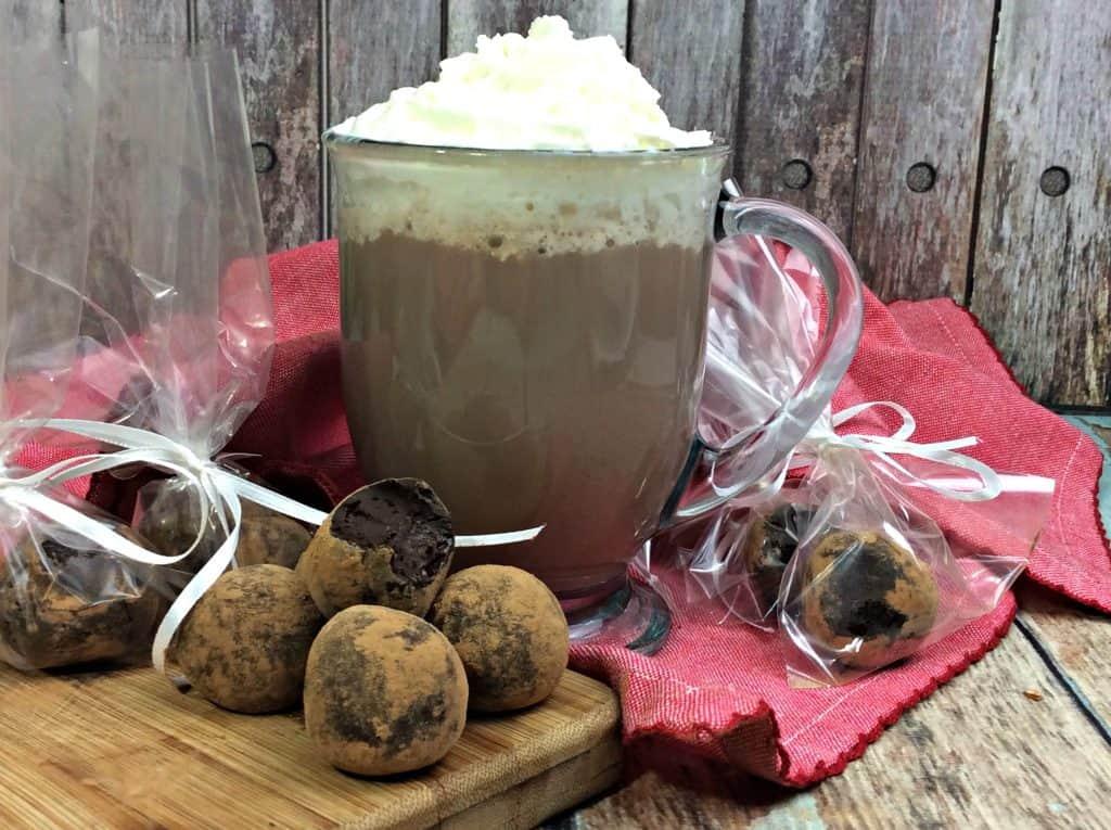 Hot Chocolate Truffles Recipe