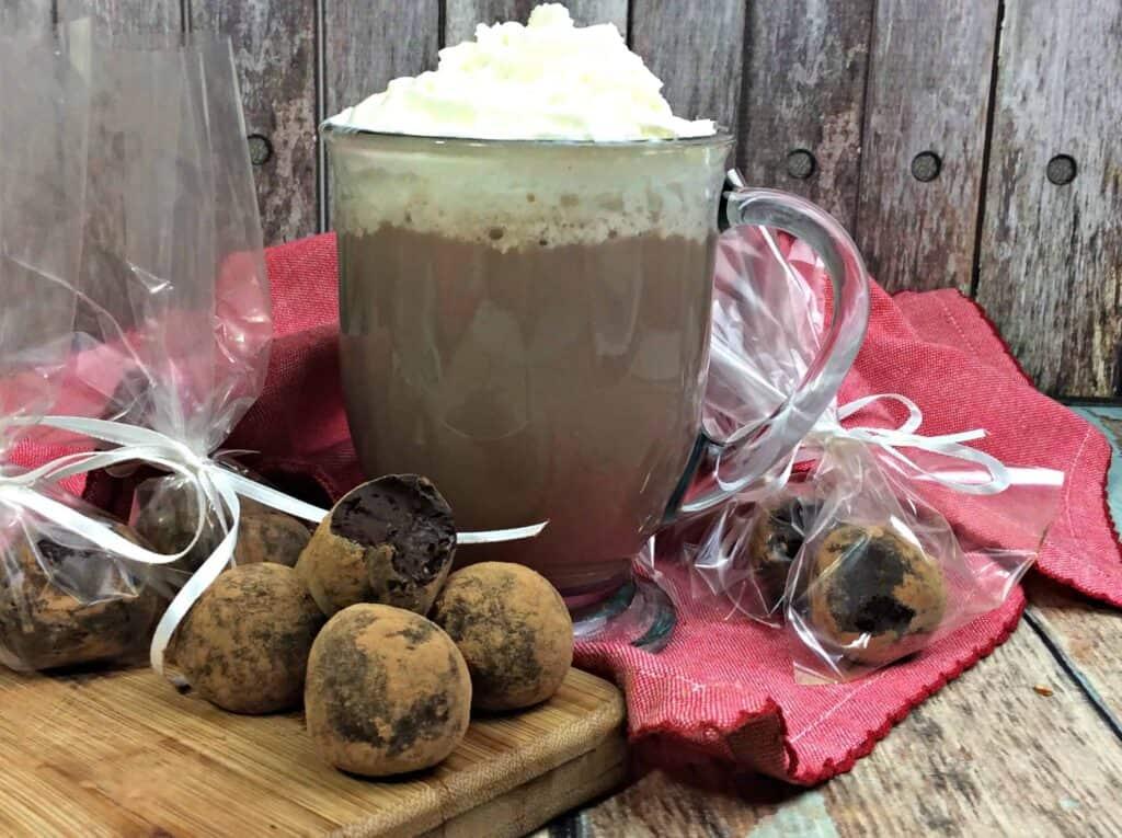 hot chocolate truffles