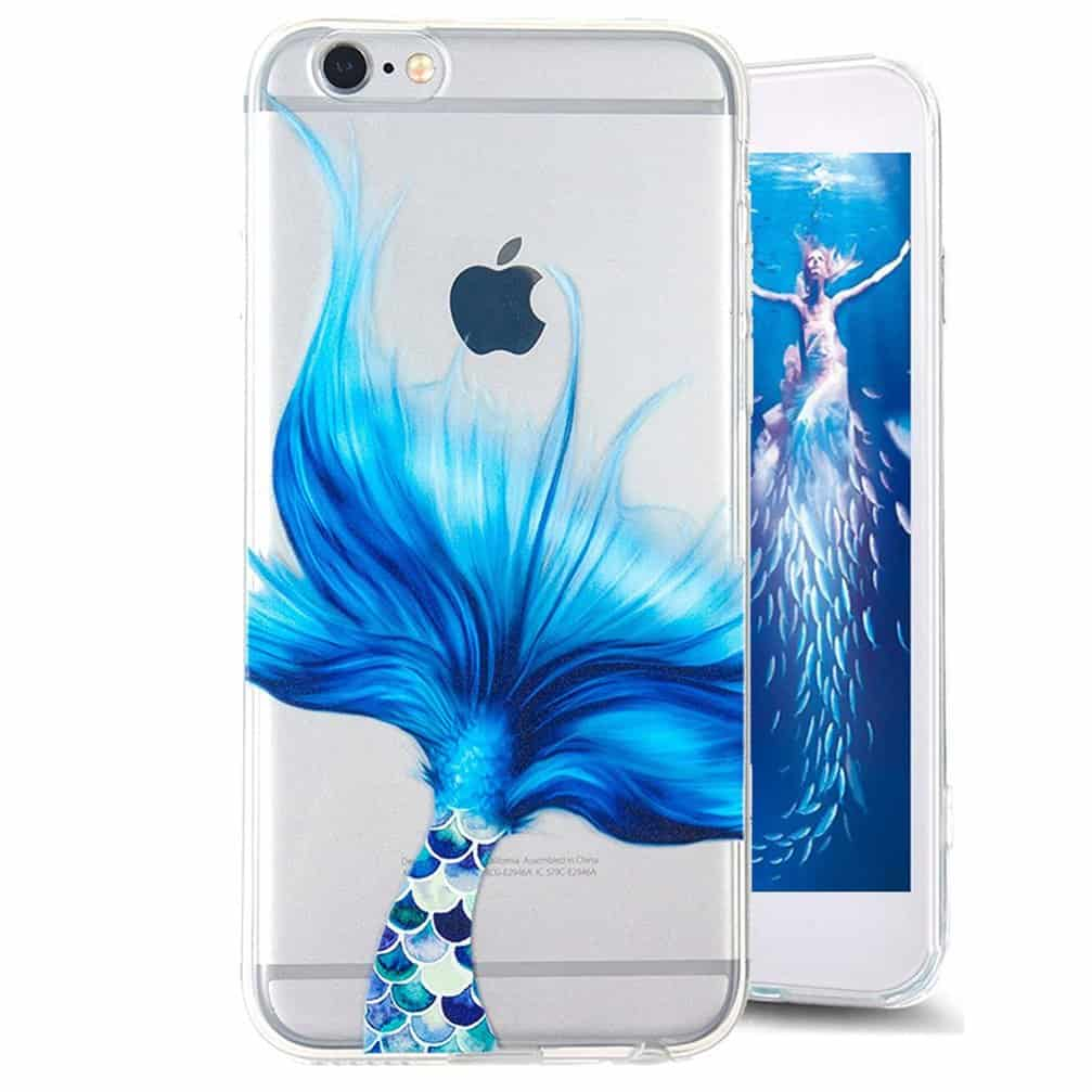 Mermaid tail iPhone 7 case.