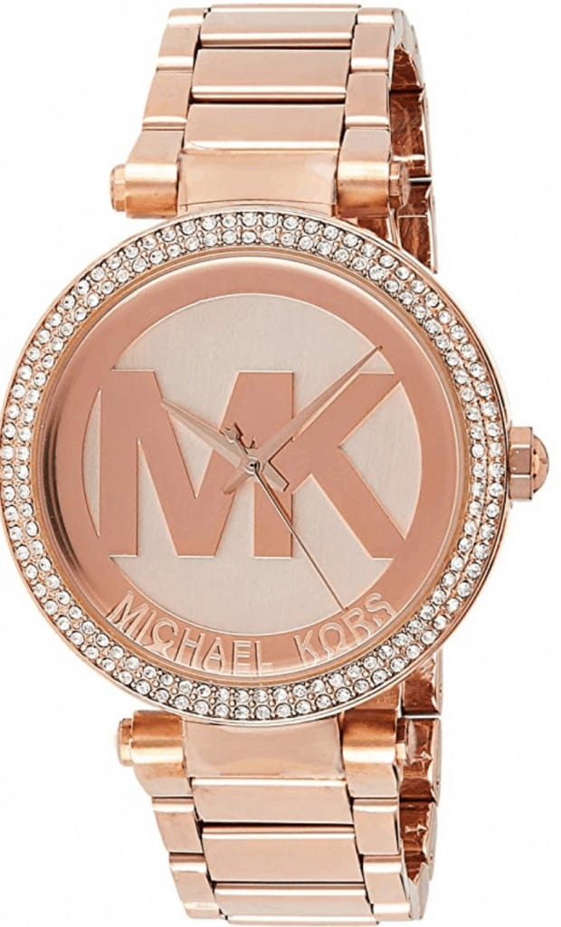 Michael Kors parker watch.
