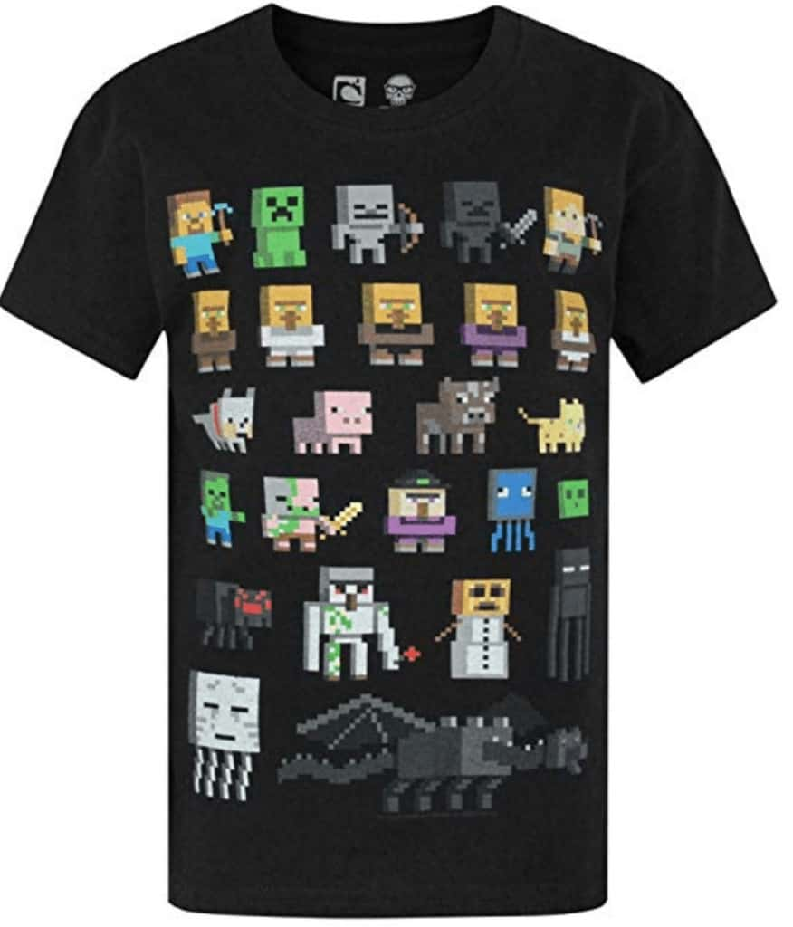 Minecraft character shirt