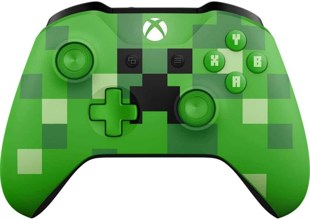 Minecraft Creeper controller for the xbox
