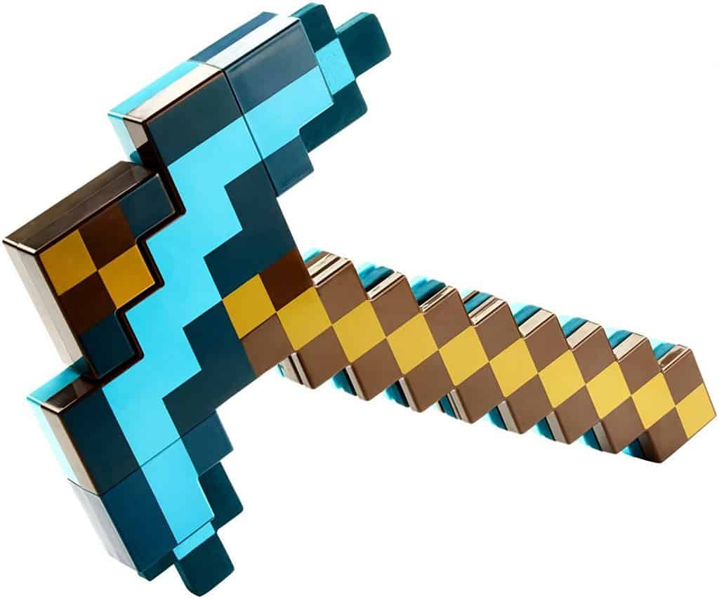 Transforming sword and pick axe