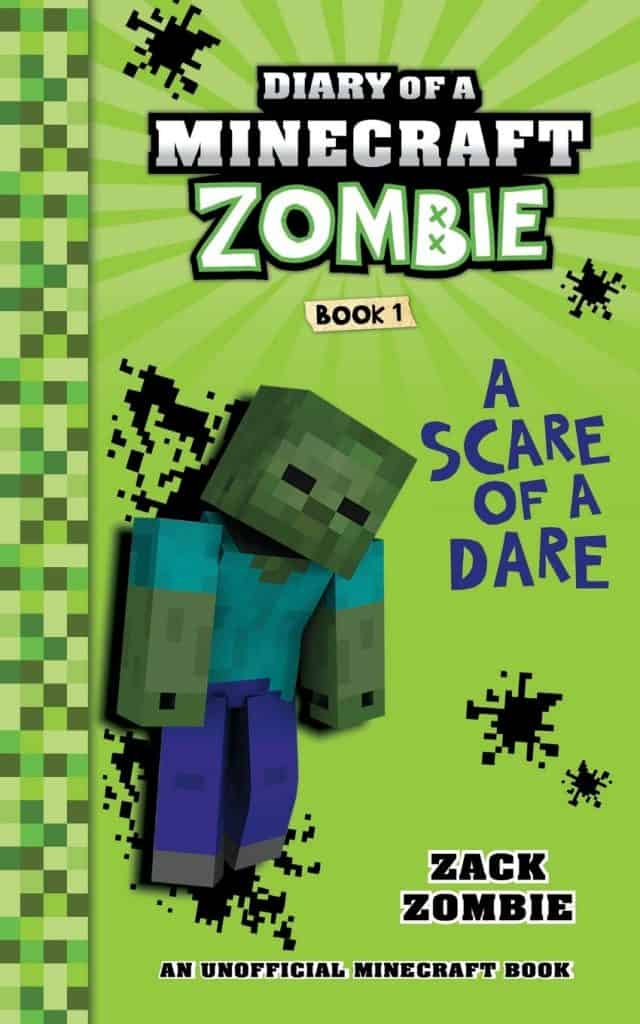 Diary of a Minecraft Zombie book