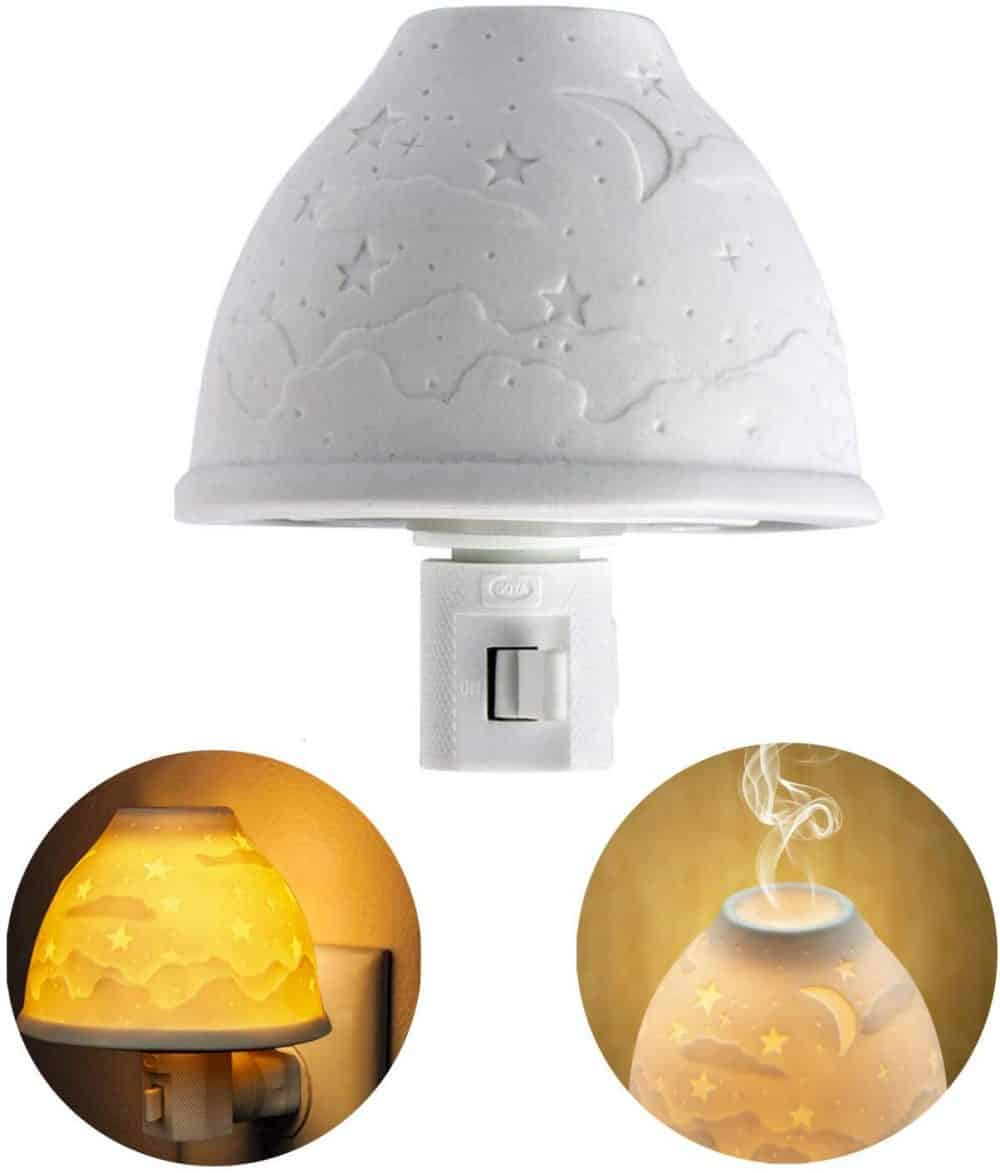 ceramic night light diffuser