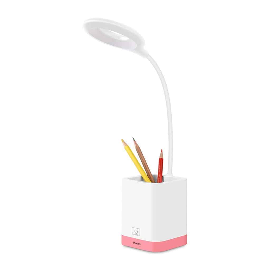 iTrustech desk lamp pen holder.
