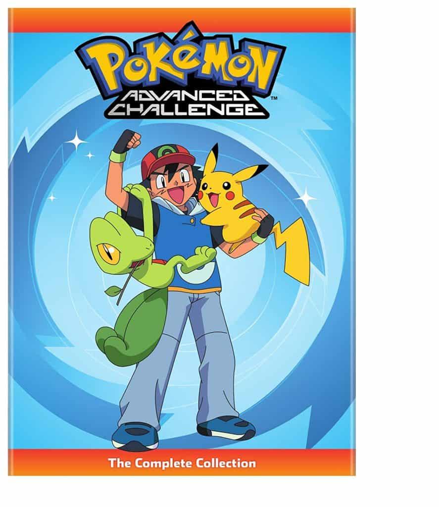 pokemon advanced challenge dvds