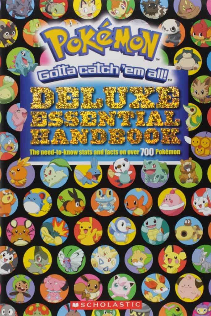 Pokemon deluxe essential handbook.