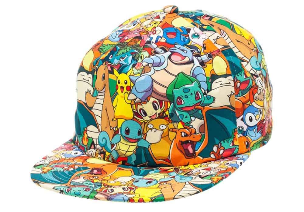 Bioworld Pokemon all over cap.