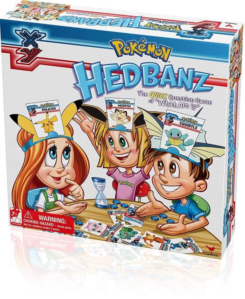 Pokemon hedbanz game.
