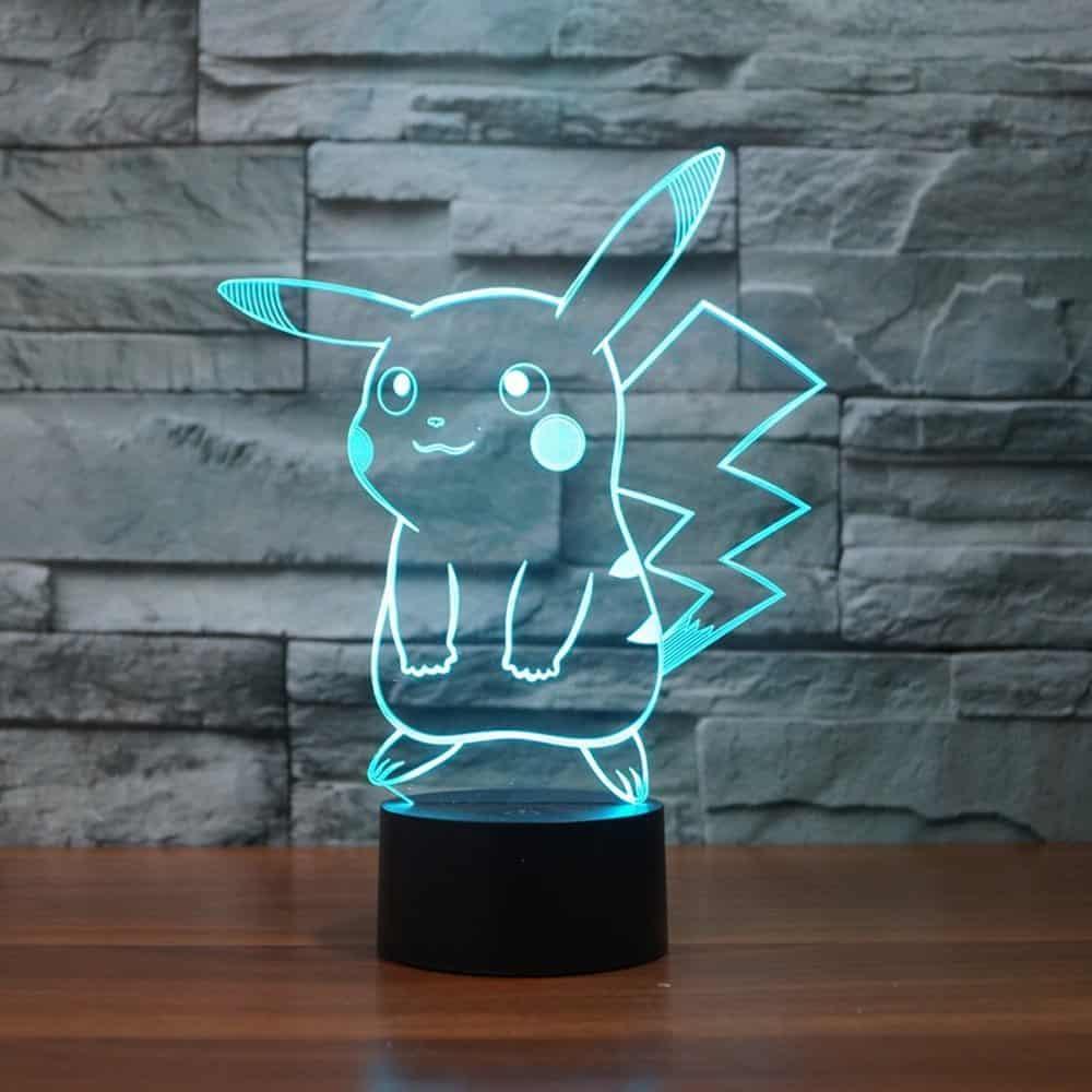 Pokemon Pikachu 3D LED Nightlight.