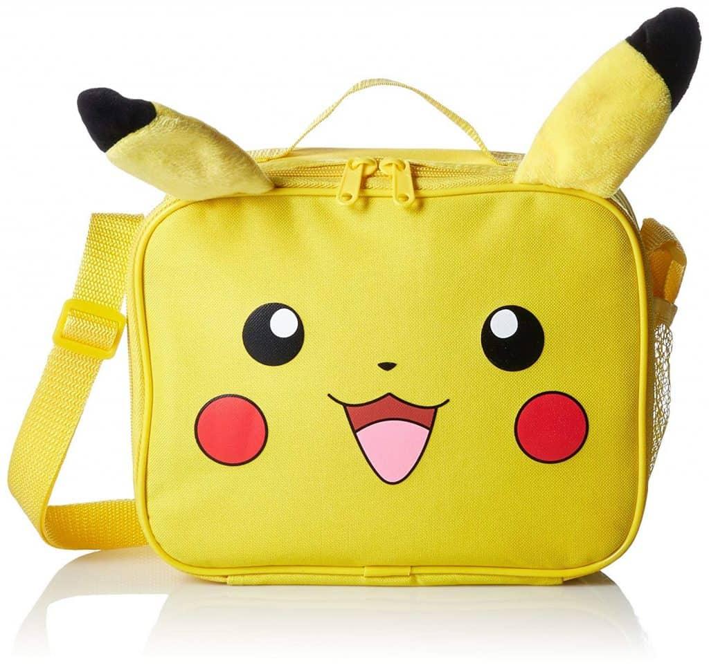 pokemon pikachu travel lunch bag