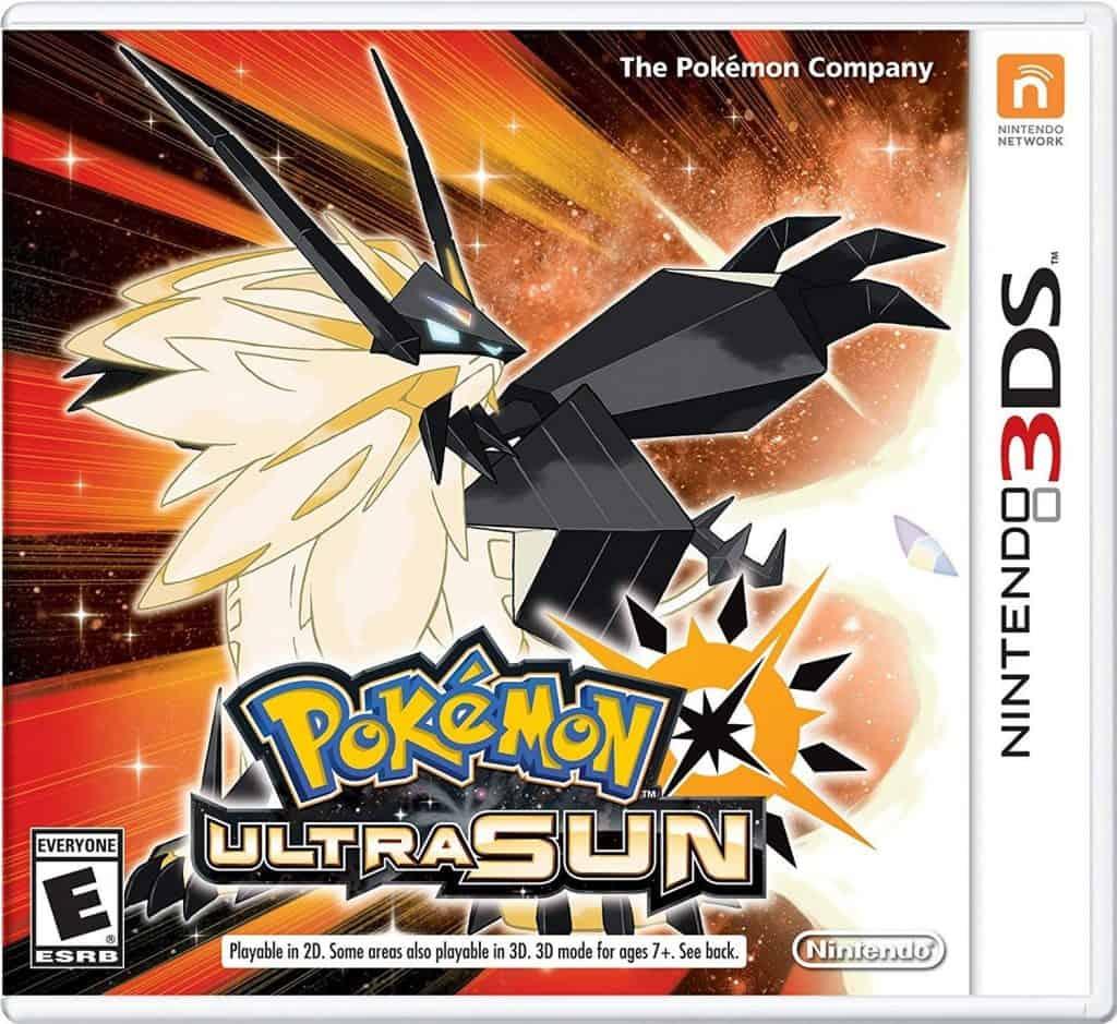 Pokemon ultra sun for Nintendo 3DS.