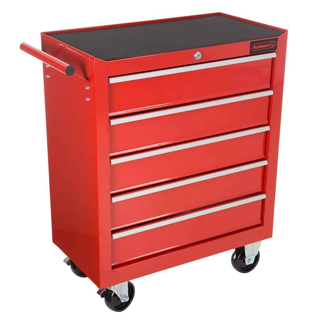 Stalwart rolling tool box.