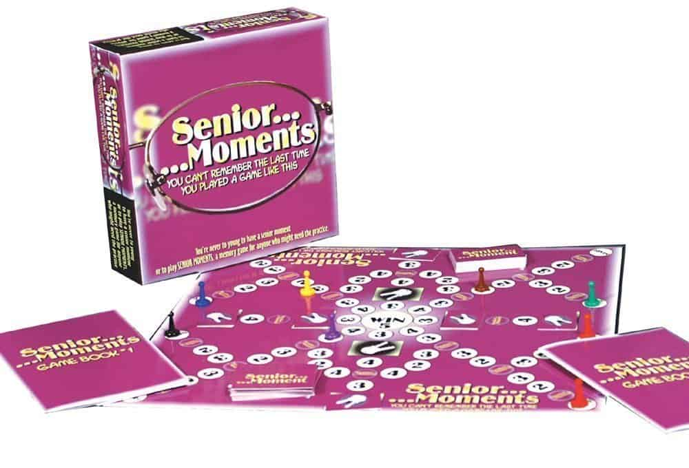 senior moments board game.