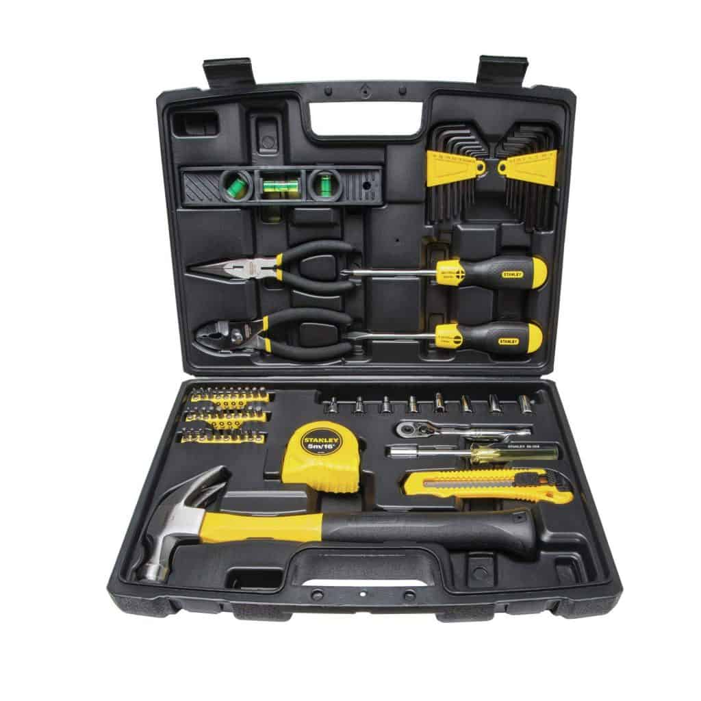 Stanley 65-piece homeowner tool set.