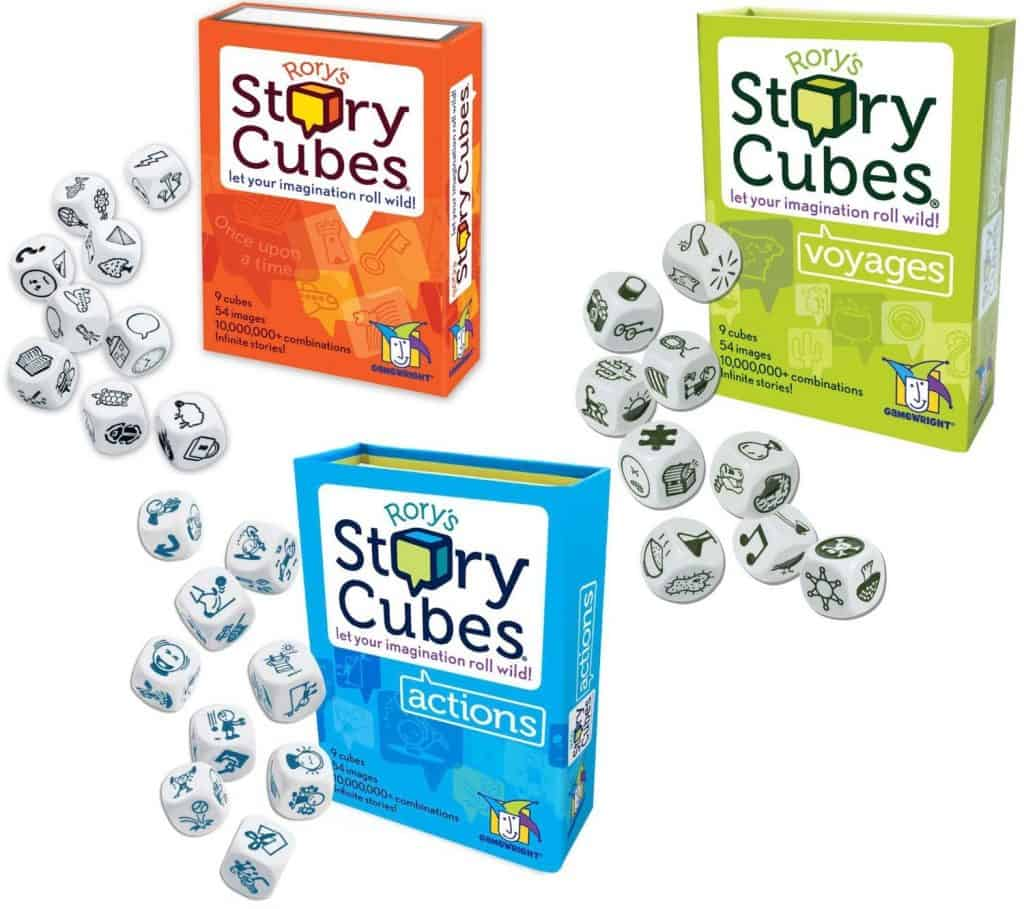 Rory\'s story cubes.