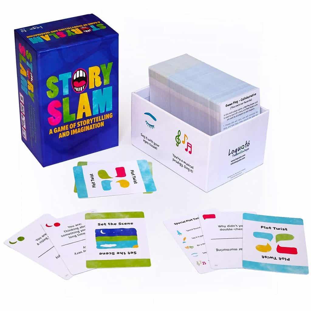 Story slam card game.
