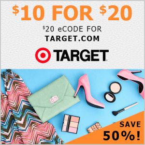 $20 Target eGift Card for $10