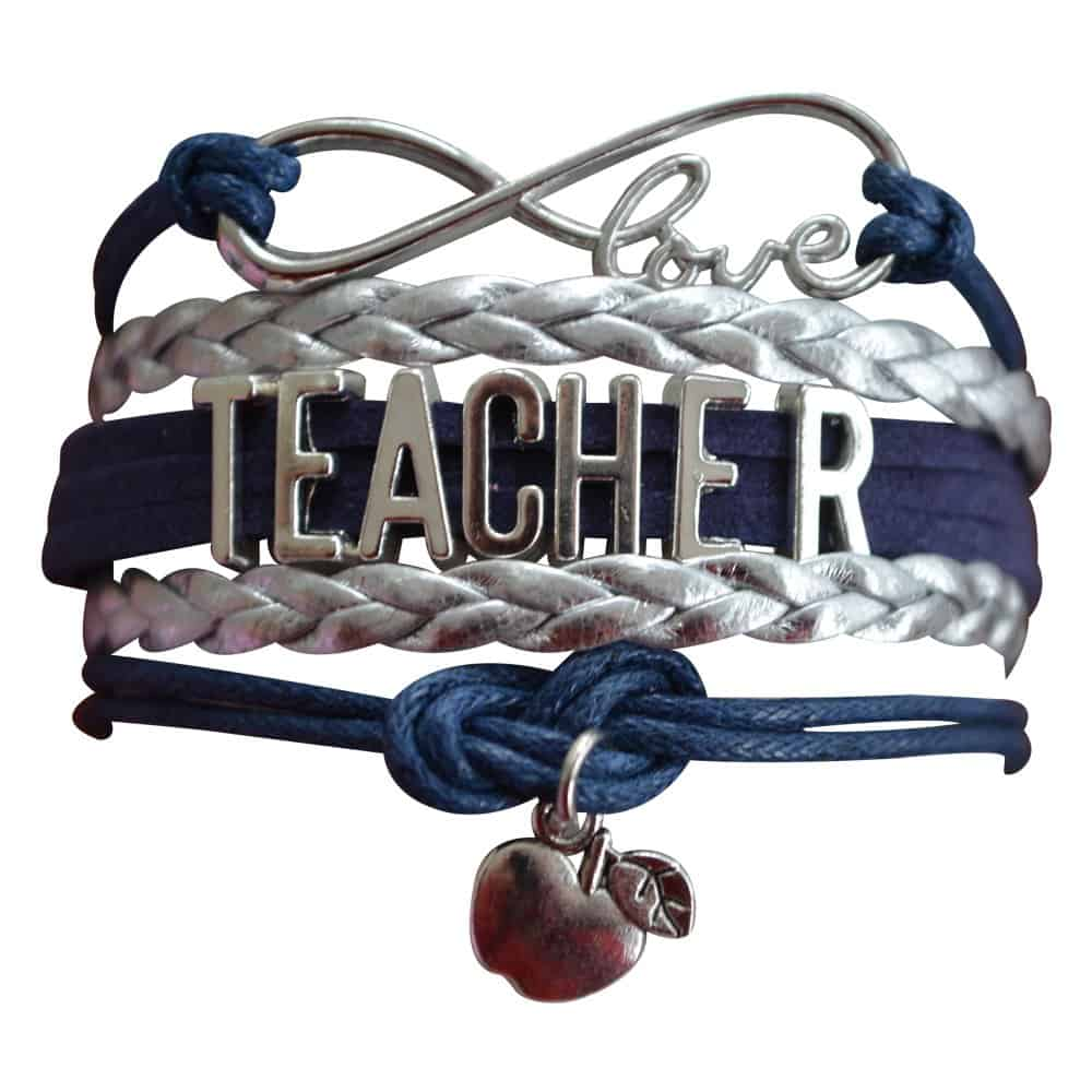 Infinity collection teacher bracelet.