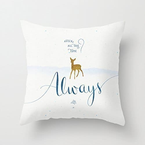 Always, After all this time throw pillow