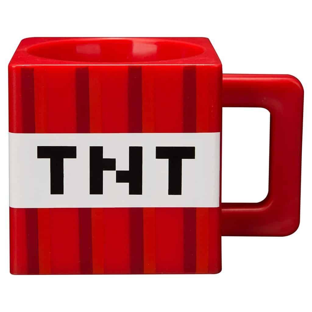 Minecraft TNT plastic mug