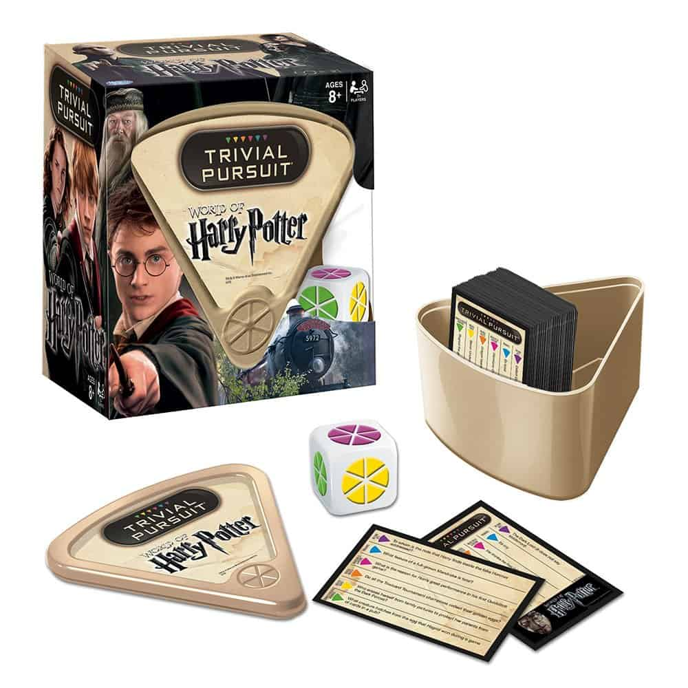 Trivial Pursuit World of Harry Potter edition.