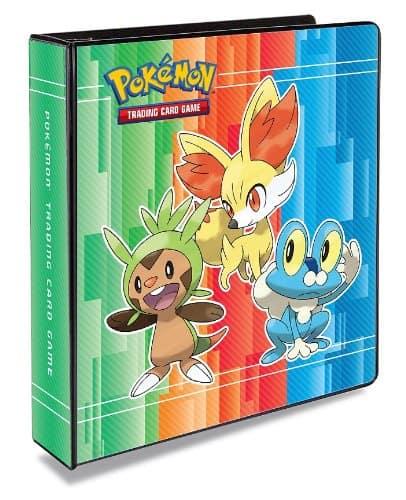 Ultra pro pokemon 3-ring binder.