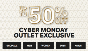 Under Armour Cyber Monday 50% off Sale
