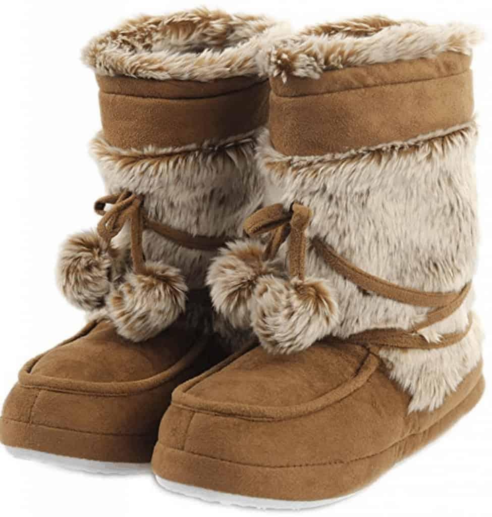 Home slipper plush slipper boots.