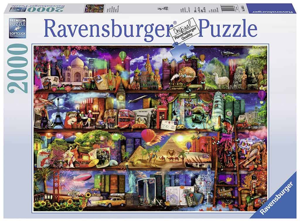 World of books puzzle.
