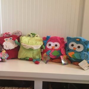 Adorable Plush Toddler Backpacks