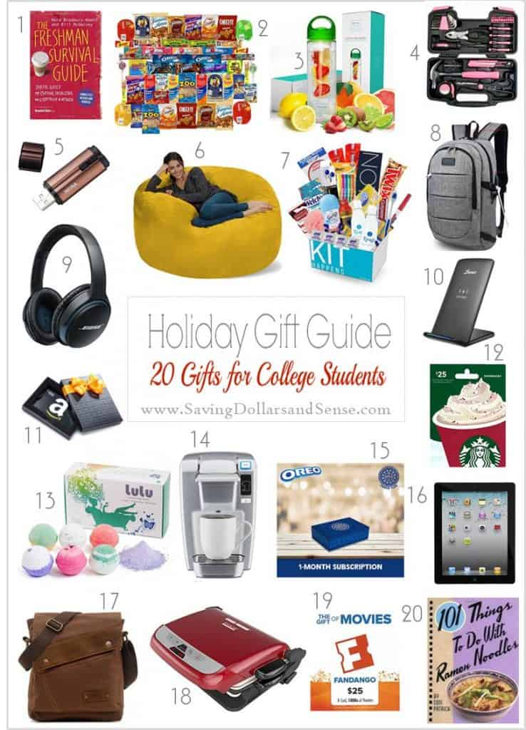 the best gift for college students - Christmas Ideas For College Students