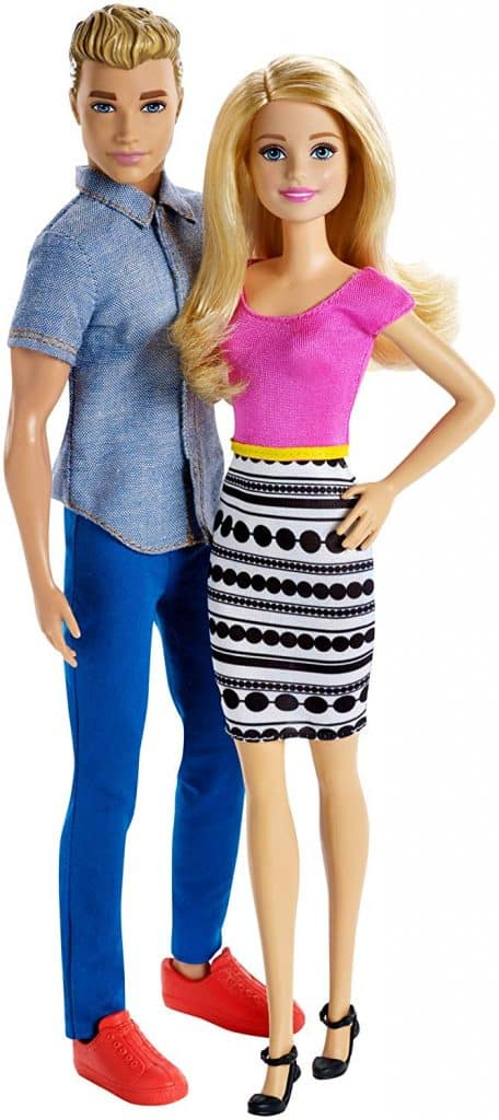 Barbie and Ken doll 2-pack.